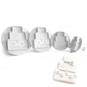 Cakes Plunger Cutter Set of 4