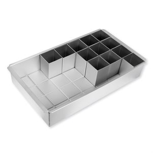 Alphabet and Number Cake Pan