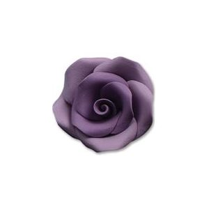 Lavender Large Roses Sugar Flowers