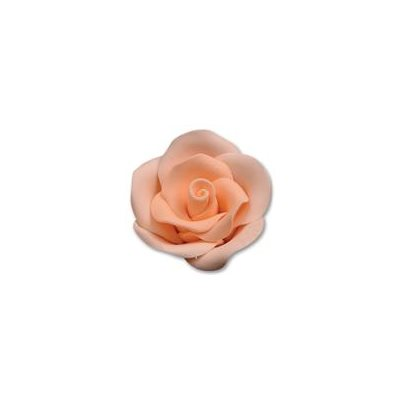 Peach Large Roses Sugar Flowers