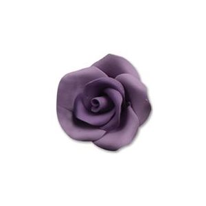 Lavender Medium Roses Sugar Flowers