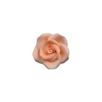 Peach Medium Roses Sugar Flowers