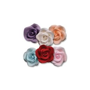 Medium Roses Sugar Flowers Assorted Colors