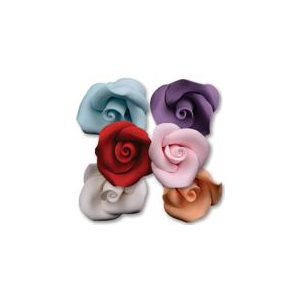 Small Roses Sugar Flowers Assorted Colors