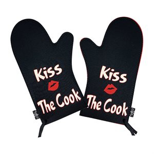 Kiss the Cook Oven Mitt