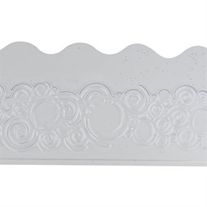 Curly Wave Plastic Impression Mat