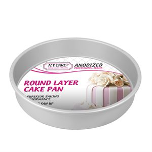 Round Cake Pan 10 by 2 Inch Deep
