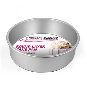 Round Cake Pan 10 by 3 Inch Deep