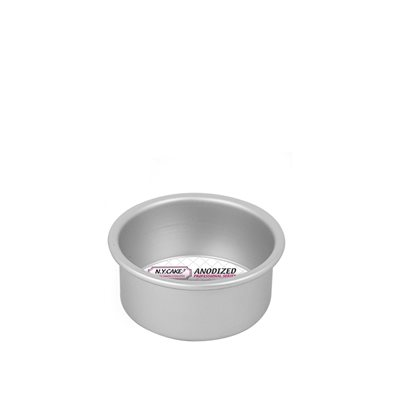 Round Cake Pan 4 by 2 Inch Deep
