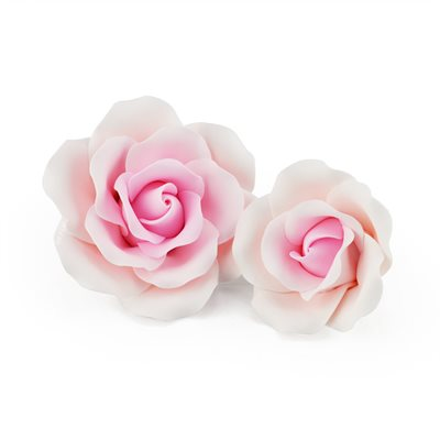 Grand Rose Pink Sugar Flowers