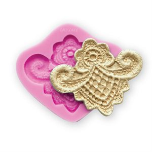 Lorraine Lace Silicone Lace Mold