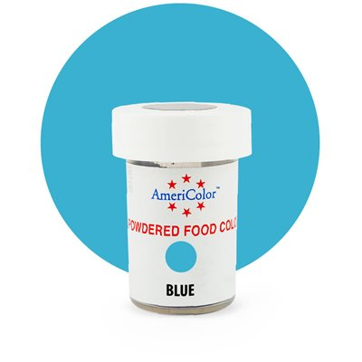Blue Powdered Food Color 3 grams By Americolor