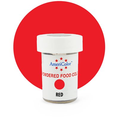 Red Powdered Food Color 3 grams By Americolor