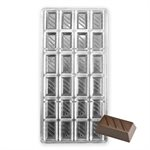 Rectangle Bar Polycarbonate Chocolate Mold
