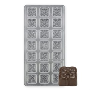 Gift Box Polycarbonate Chocolate Mold