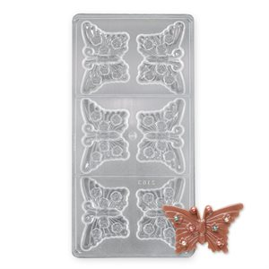 Butterfly Polycarbonate Chocolate Mold