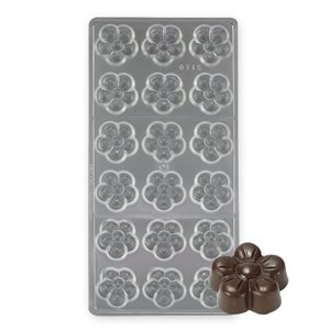 Blossom Polycarbonate Chocolate Mold