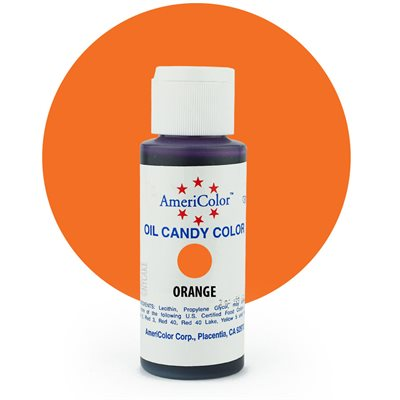Orange Candy Color- 2 ounces By Americolor