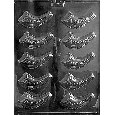 Jewish Horn Shofar Chocolate Candy Mold