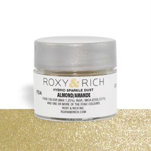 Almond Edible Hybrid Sparkle Dust By Roxy Rich 2.5 gram