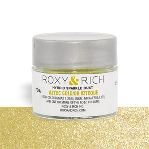 Aztec Gold Edible Hybrid Sparkle Dust By Roxy Rich 2.5 gram