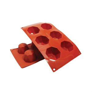 Diamond / Jewel Silicone Baking Mold 3.1 Ounce