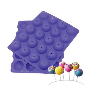Mini Cake Pop Silicone Baking Mold