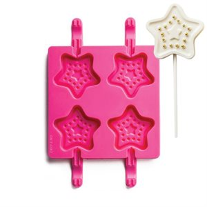 Star Shape Silicone Lollipop Mold