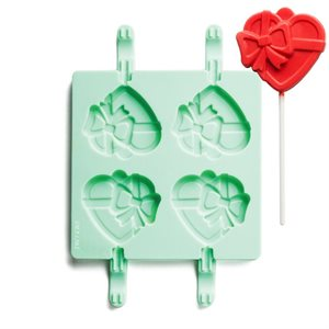 Heart Shape Silicone Lollipop Mold