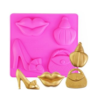 Fashionista Silicone Chocolate Mold
