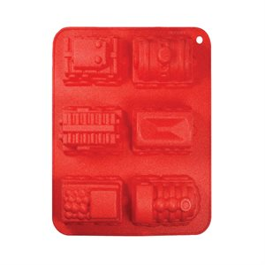 Train Mold Silicone Novelty Bakeware