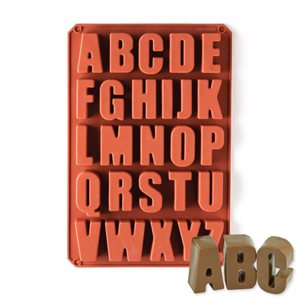 Alphabet Baking Mold