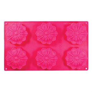 Fancy Flower Silicone Novelty Bakeware