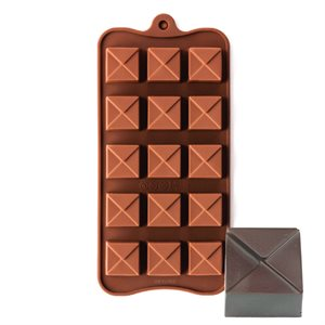 Tiered Square Silicone Chocolate Mold