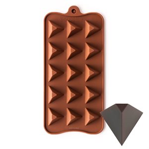 Pyramid Triangle Silicone Chocolate Mold