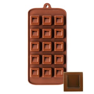 Dimpled Square Silicone Chocloate Mold