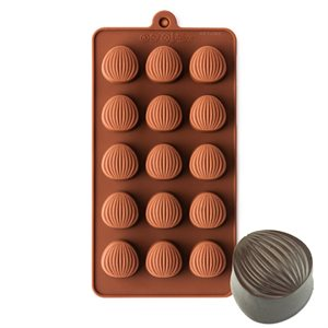 Almond Shape Silicone Chocolate Mold