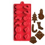 Christmas Assortment Silicone Chocolate Mold