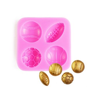 Sports Silicone Mold By NY CAKE