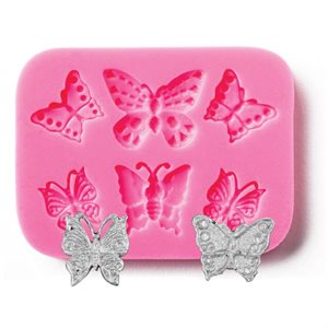Assorted Butterfly Mold Silicone Fondant Mold