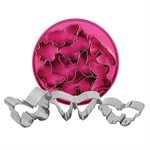 Butterfly Cutter Set Stainless Steel