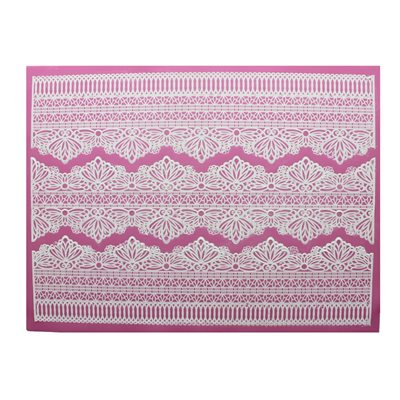 Serenity 3D Large Cake Lace Mat By Claire Bowman