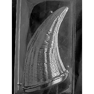 3D Large Cornicopia Chocolate Candy Mold-2 Piece