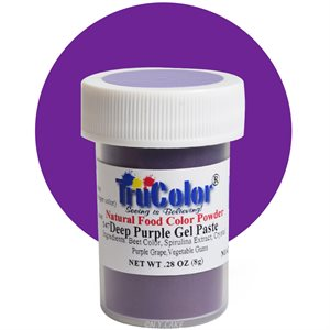 Deep Purple Gel Paste Natural Food Color 9 grams