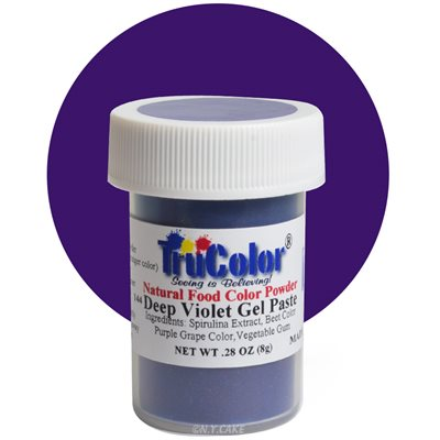 Violet Gel Paste Natural Food Color 8 grams
