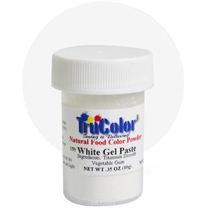 White Gel Paste Natural Food Color 10 grams