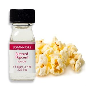 Buttered Popcorn Oil Flavoring - 1 Dram By Lorann Oil