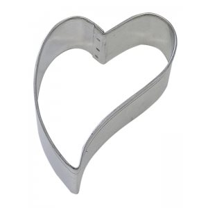 Folk Heart Cookie Cutter 3 Inch