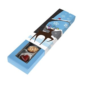 Winter Wonderland Chocolate Box 5 Piece Slider-Pack of 5