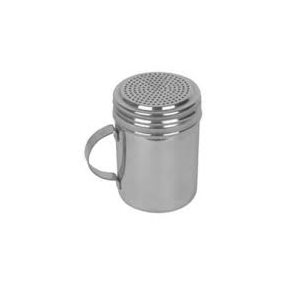 10 Ounce Dredger Shaker Stainless Steel With Handle
